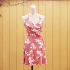 🌺FLORAL PINK DRESS BRAND NEW